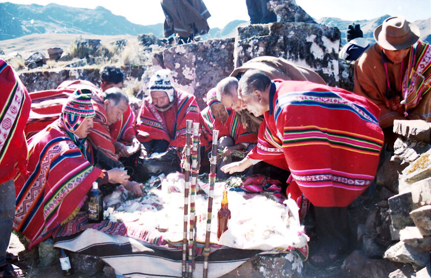 The Kallawaya Ethnic Group, UNESCO protected