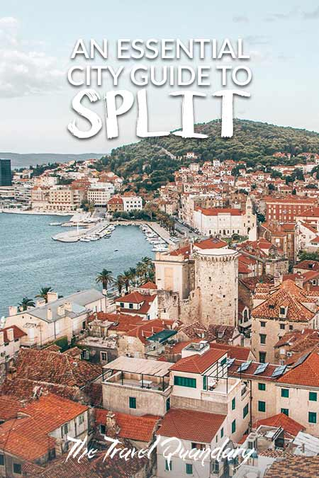 Pin and Save Photo: Split Travel Guide