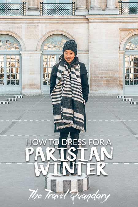Pinterest |What To Wear In Paris In Winter