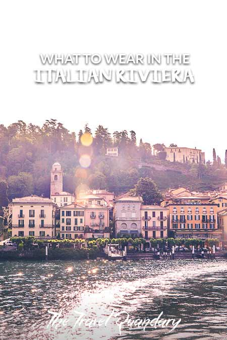 Pin to Pinterest - What to wear in the Italian Riviera