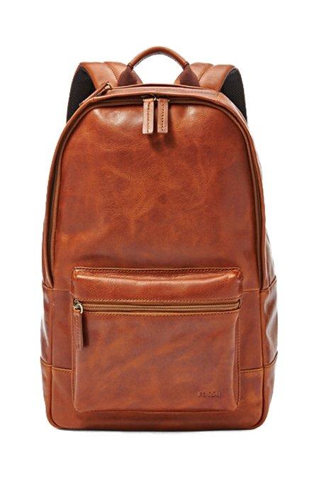 Fossil Estate Leather Backpack - Gift Guide for Men