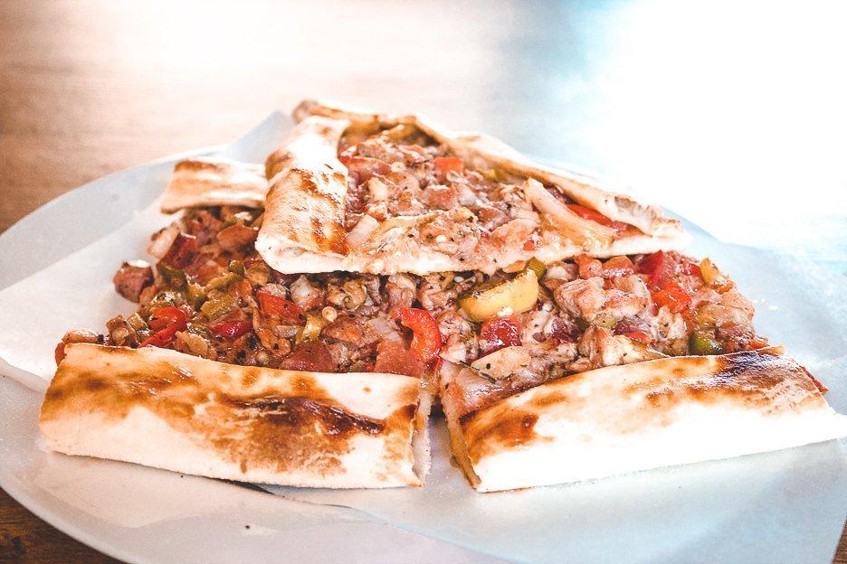 Turkish pizza in Berlin