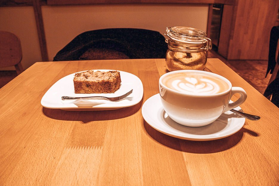 Coffee and cake served up at Madal Cafe, Coffee in Budapest