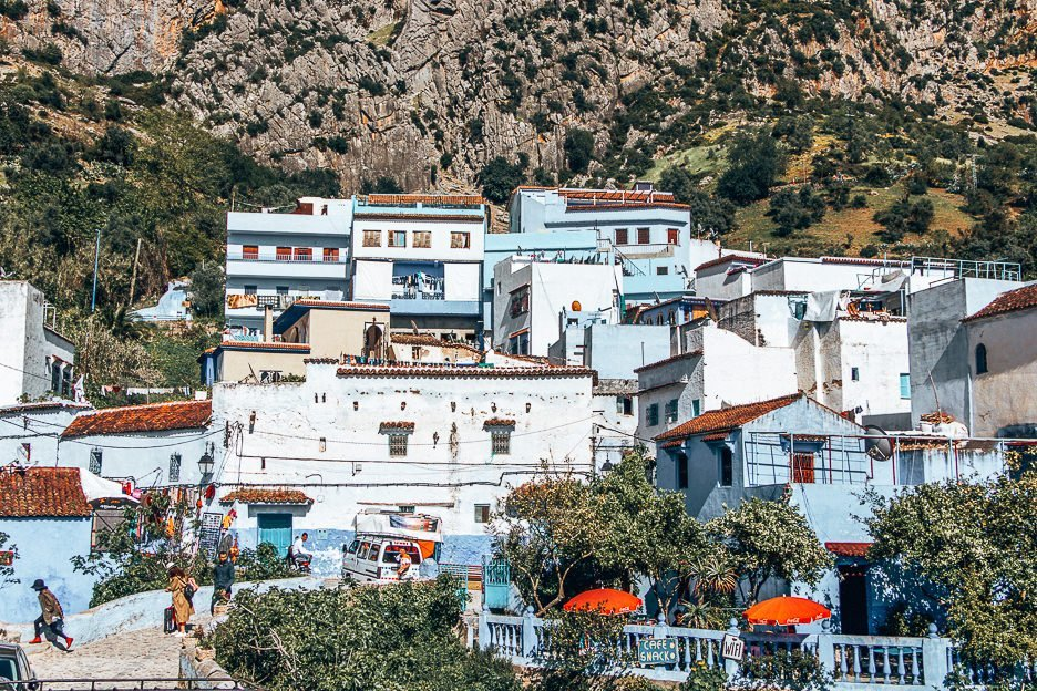Painted blue houses of Chefchaouen, Morocco