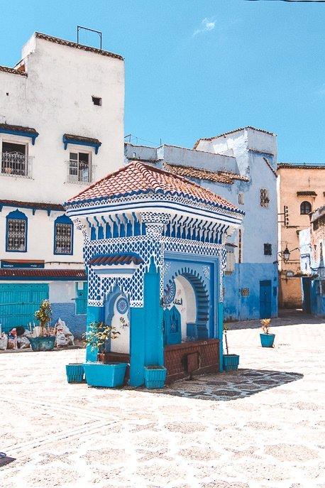 Bab El Sor Square, Chefchaouen Morocco