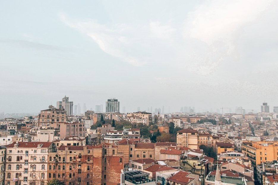 View over the city from Galata Tower - Istanbul City Guide