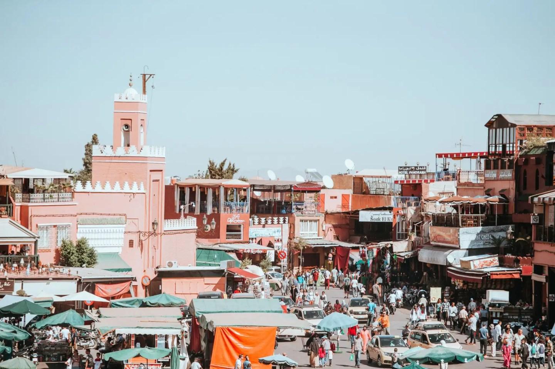 Jemaa el Fna Square, Marrakesh