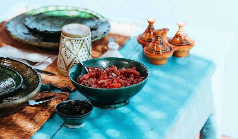Moroccan Tagine Spread