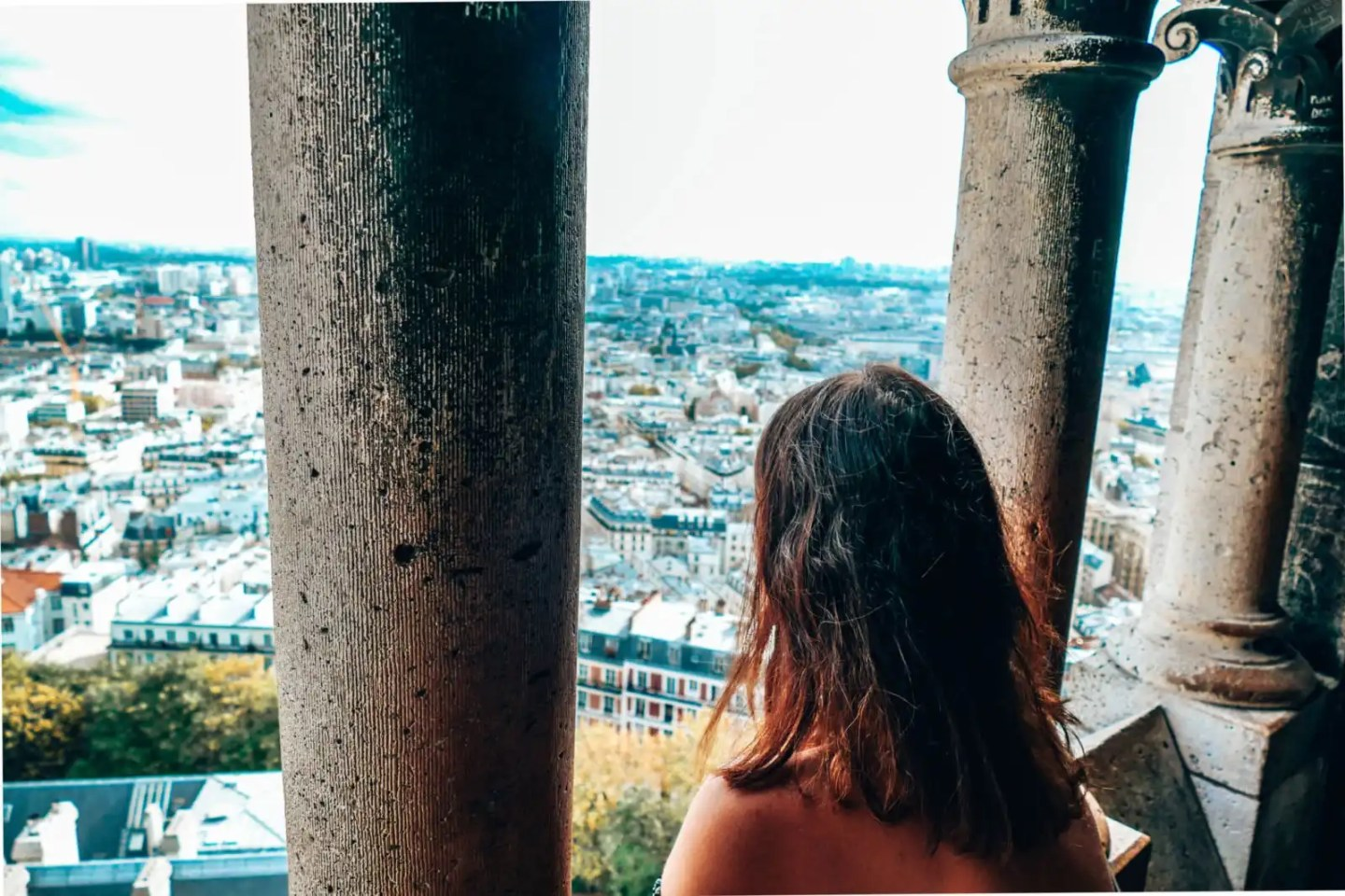 Sacre Coeur view - 2 days in Paris itinerary