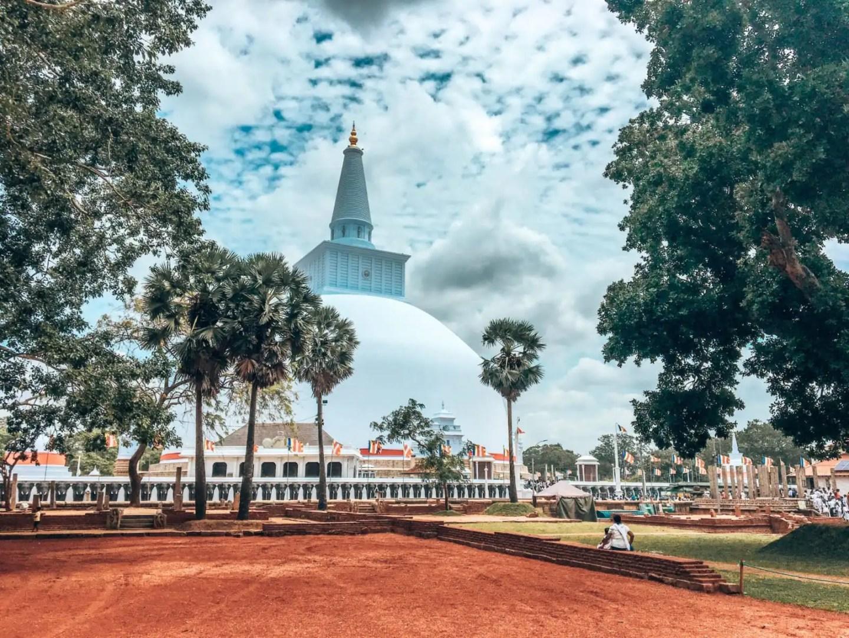 The White Dagoba, Sri Lanka