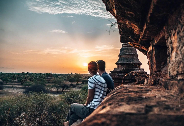 Temple at Sunrise - Bagan Temple Guide