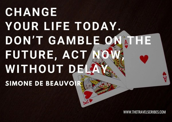Facebook Captions - Simone de Beauvoir