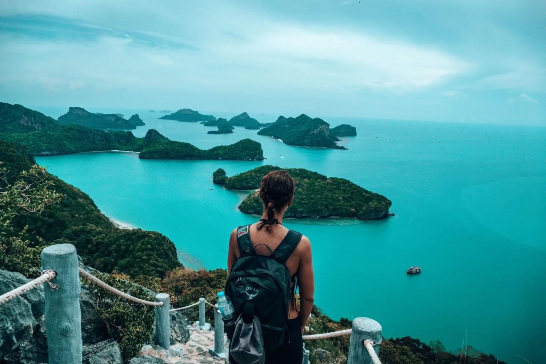 Lee overlooking mu ko ang thong national park