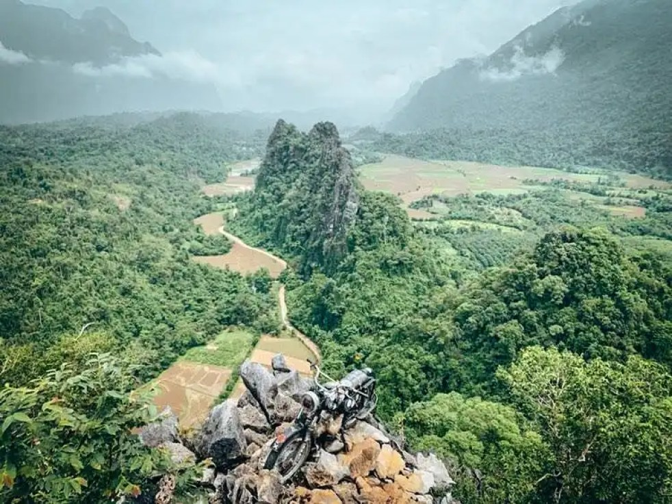 Picture of Nam Xay Viewpoint in Vang Vieng, Laos