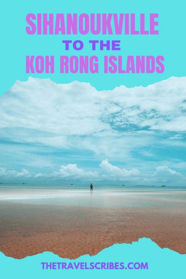 Sihanoukville to Koh Rong Pinterest Pin