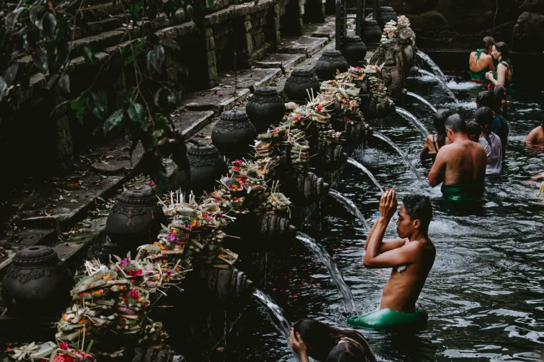 Ubud 3 day itinerary - Pura Tirta Empul