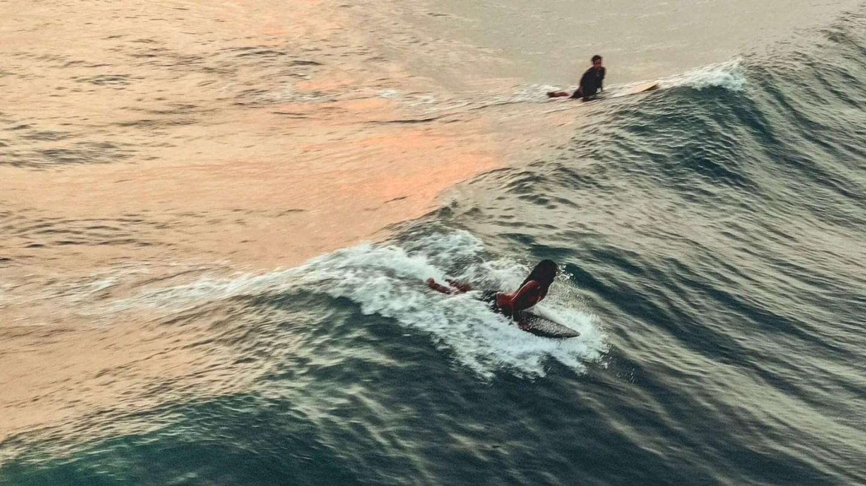 7 days Bali itinerary - Canggu surf