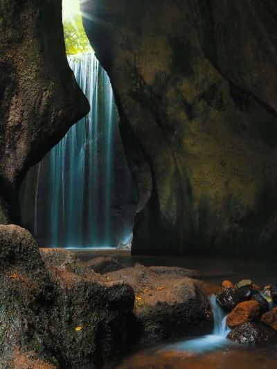 Ubud Waterfall - Tukad Cepung cave waterfall
