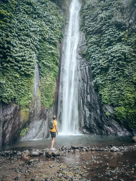 Munduk Waterfalls - Red Coral Waterfall