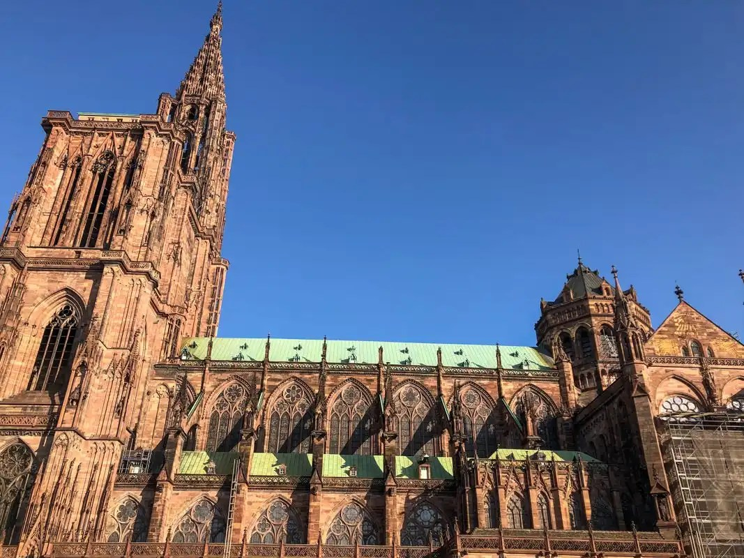 Cathedral Notre Dame in Strasbourg