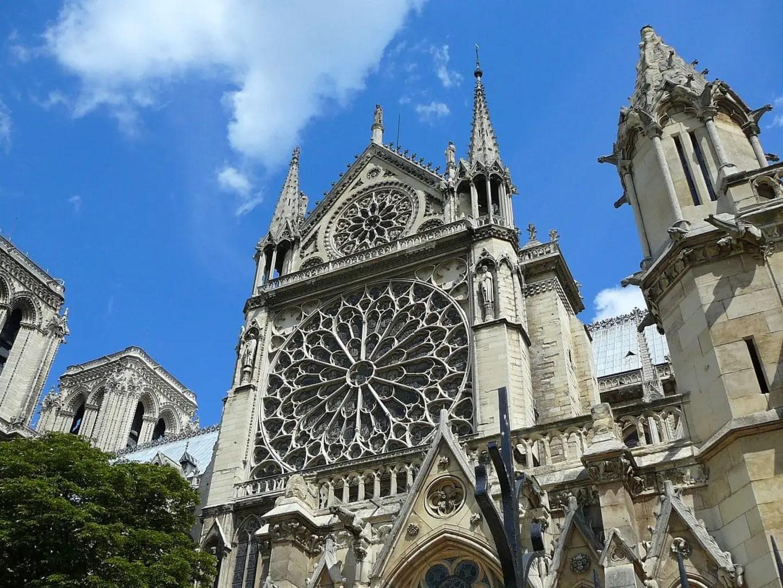 Landmarks in France - Notre Dame