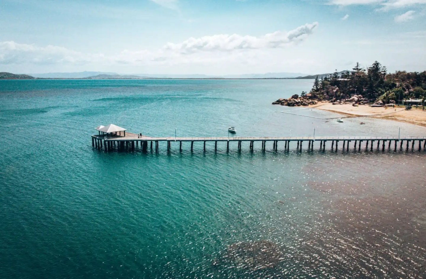 The pier at Picnic Bay Magnetic Island