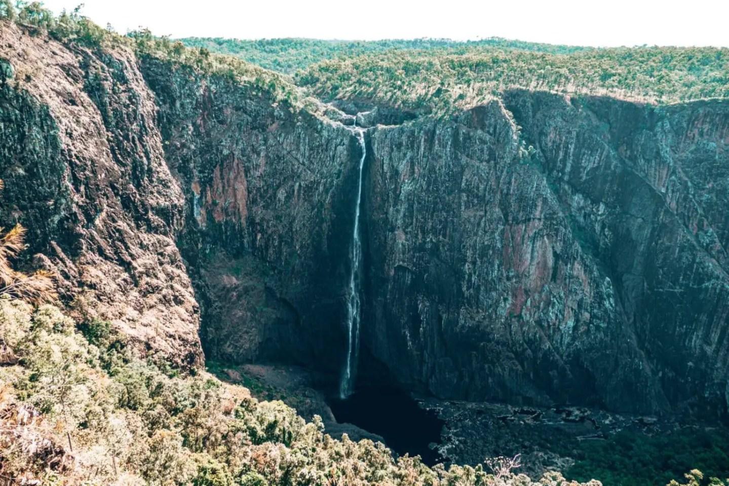 Wallaman Falls near Townsville