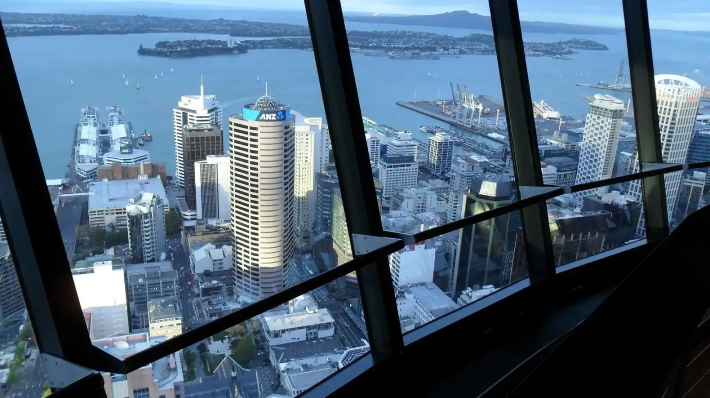 Sky Tower views a must on your New Zealand North Island itinerary 10 days