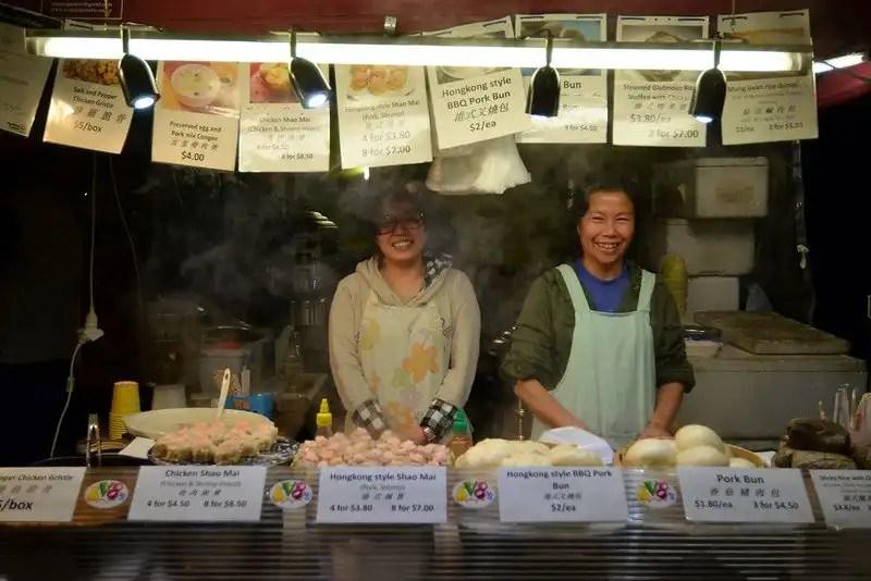 Night Market in Auckland