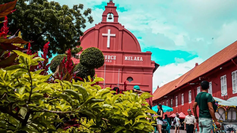Christ Church in Melaka Malaysia
