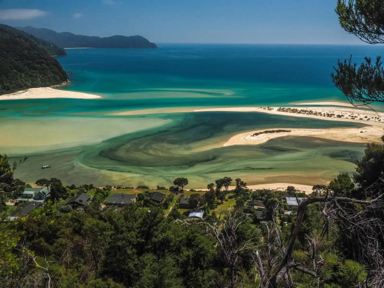 10 day New Zealand South Island itinerary - Abel tasman