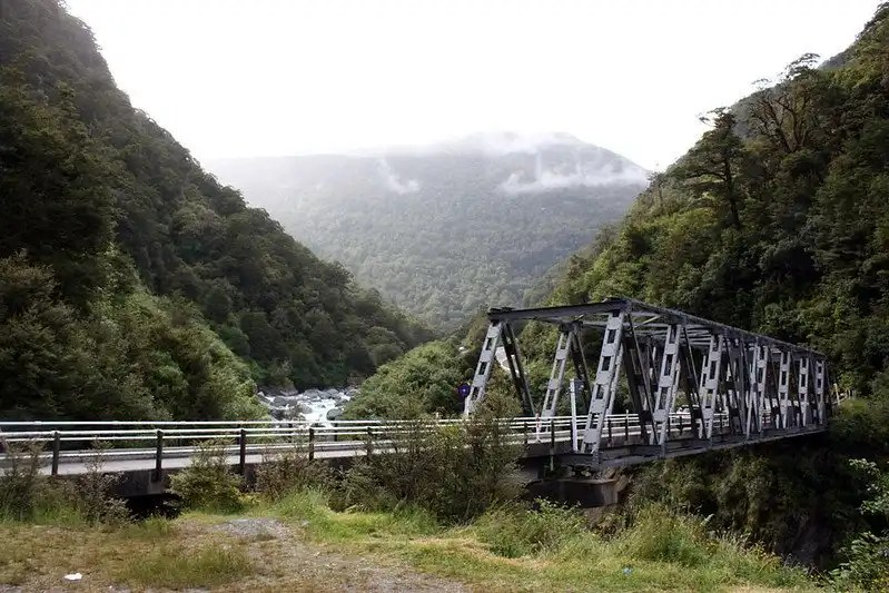 Haast Bridge, West Coast, New Zealand