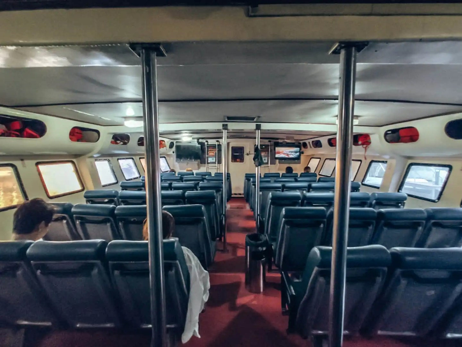 Langkawi to Koh Lipe Ferry interior