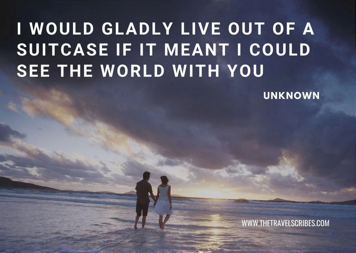 Couple Travel Quotes - travel together