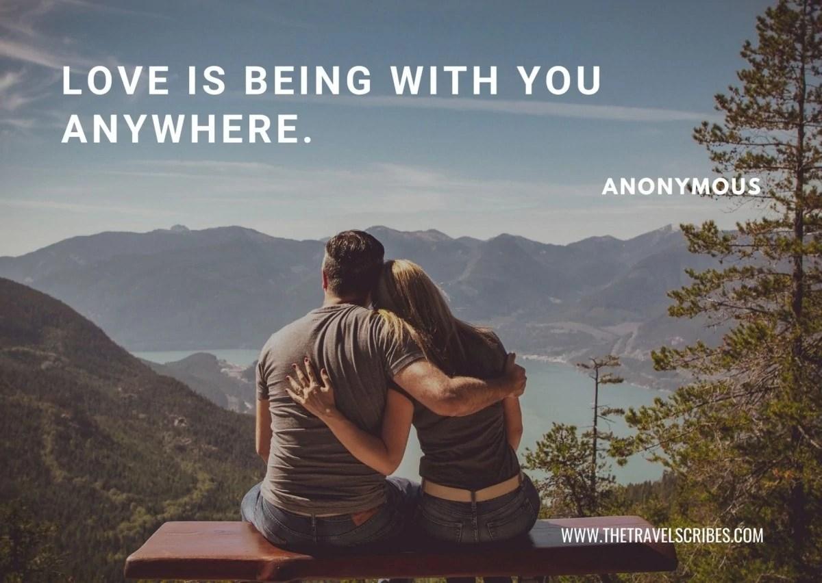 Couple travel quotes instagram