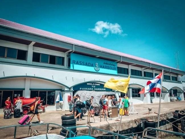 Phuket to Koh Lanta - Rassada Pier