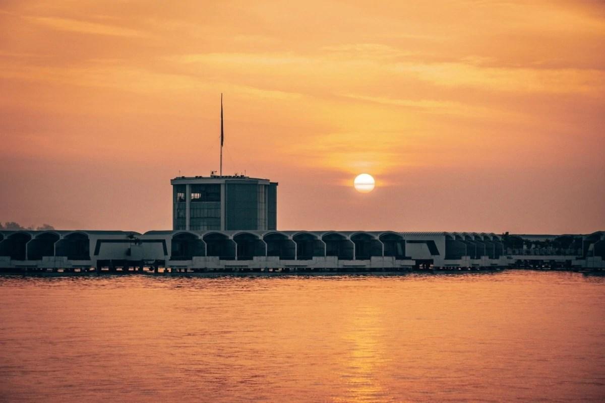 Lexis Hibiscus sunset