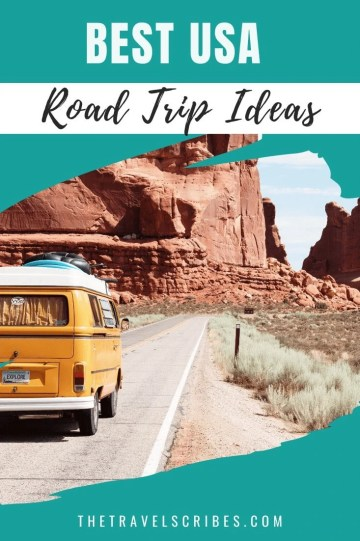 Wanting to go on an epic road trip? We've got the ultimate list of USA road trip ideas including what to do in each place, and driving distances