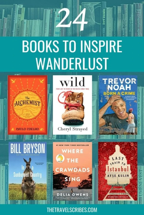 Looking to get inspired from the comfort of your armchair? We've got a definitive list of the best books to inspire your wanderlust, from across the globe!