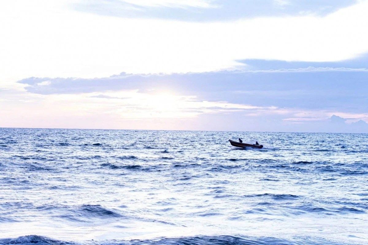 Waters of Negombo Sri Lanka