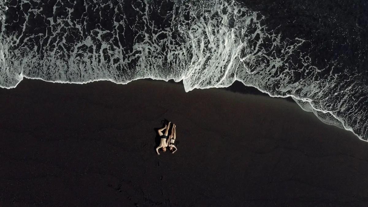 Bali black sand beach hidden gems