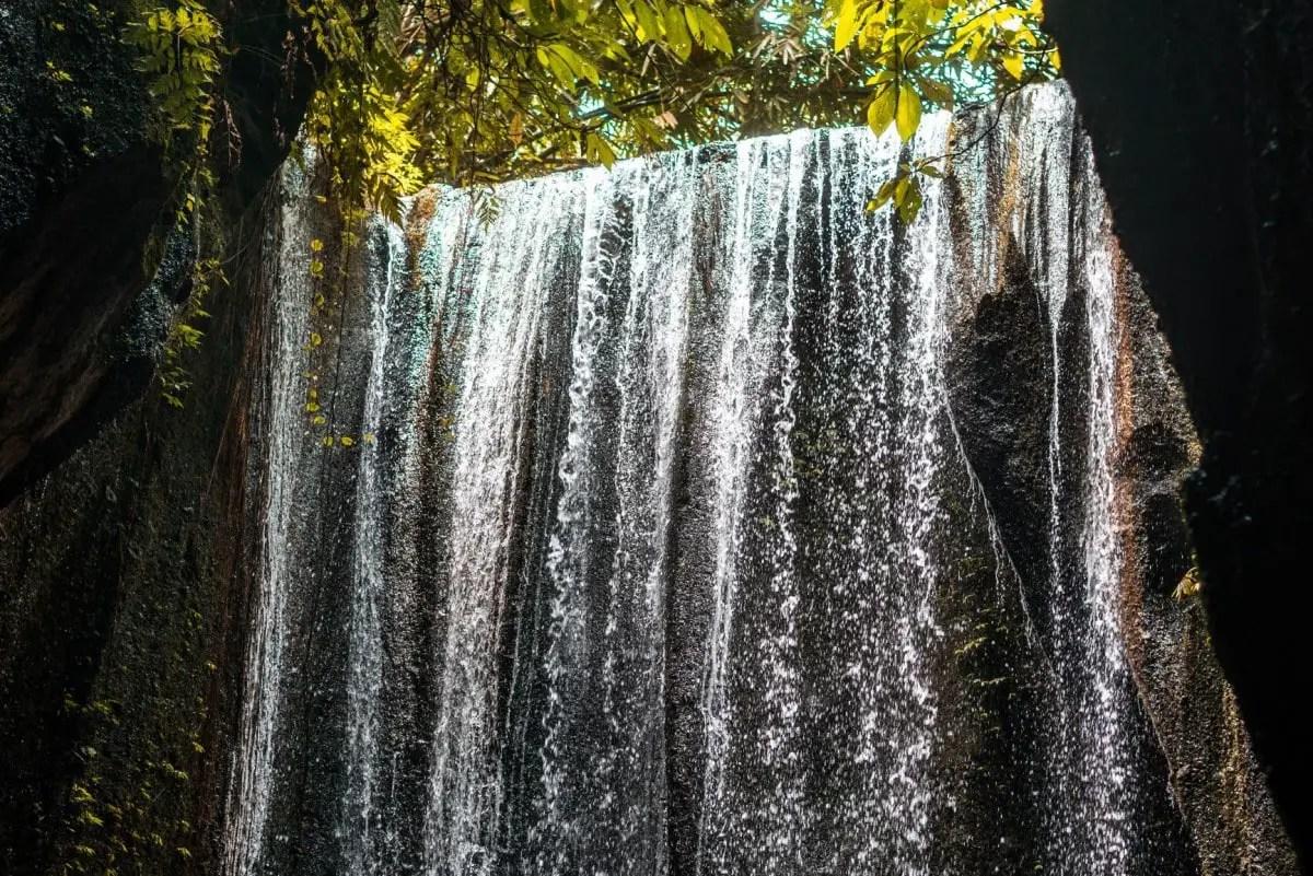 Hidden Bali gems - Tukad Cepung Waterfall