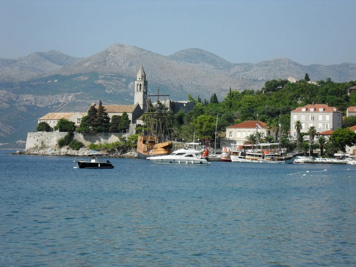 Lopud Island part of Elaphiti islands, perfect as part of a Dubrovnik itinerary