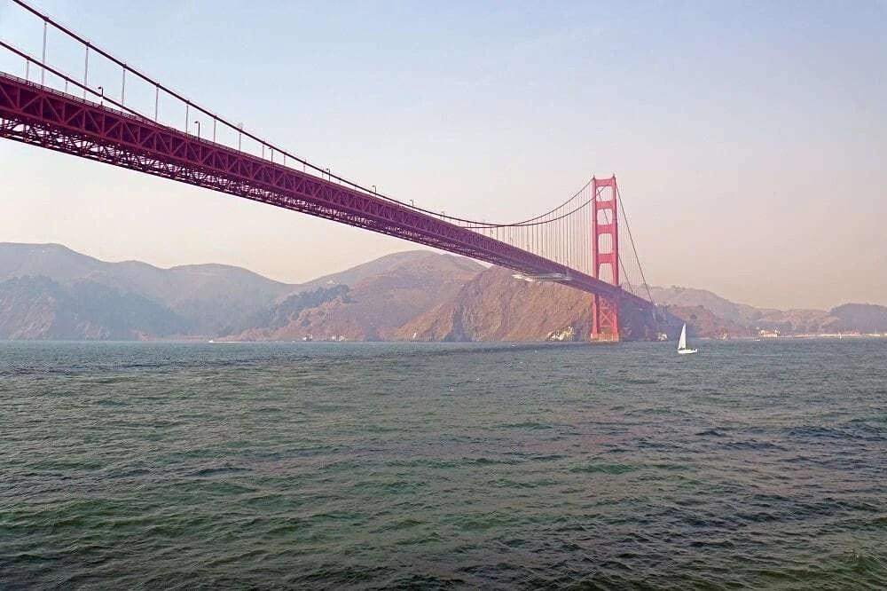 America Landmarks - Golden Gate Bridge