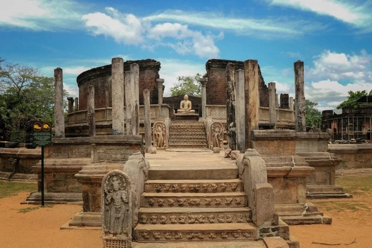 Ancient ruins of Sri Lanka - Ancient City of Polonnaruwa