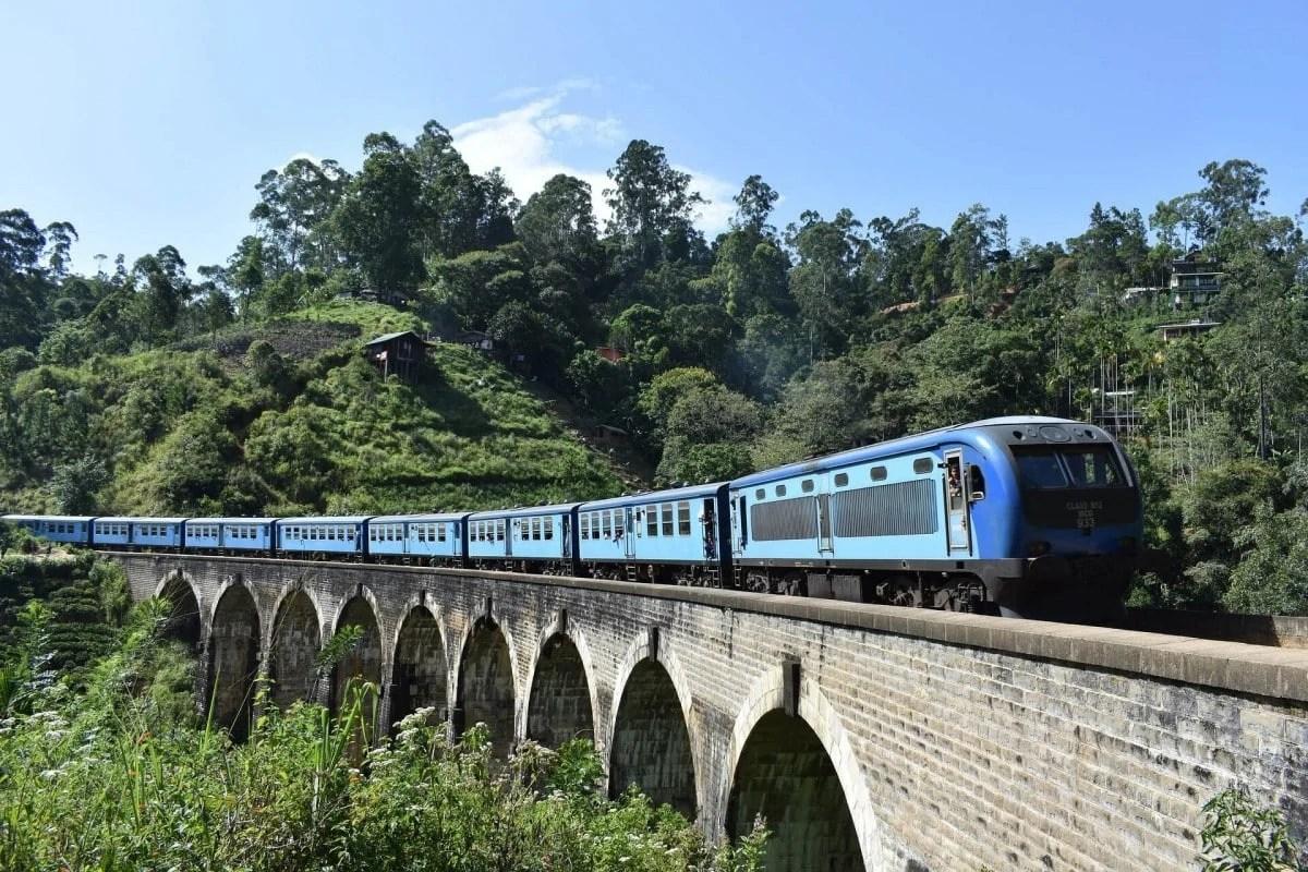 Sri Lanka landmarks - Nine Arches Bridge Ella
