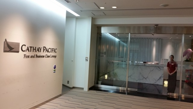 cathay pacific lounge tokyo nrt