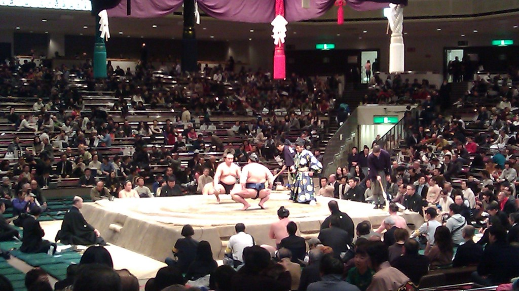 2 Days in Tokyo: Devils and Sumo
