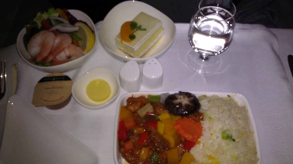Review: Asiana Airlines – Business Class – Seoul Incheon to Chengdu