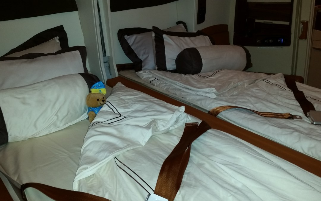 Review: Singapore Airlines Suites A380, Singapore-Shanghai